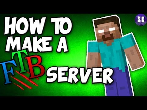How to Make a FEED THE BEAST Server (ALL MODPACKS)