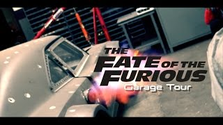 Fate Of The Furious Garage Tour! - How Dom Drives 100MPH in REVERSE (EXPLAINED) | SLAPTrain