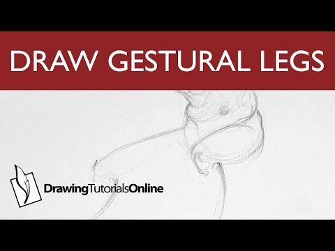 60 Minute Figure Drawing - Torso - Gesture - Platforms