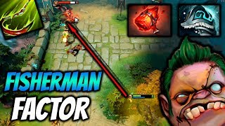 FACTOR PUDGE FISHERMAN - Dota 2 Highlights TV