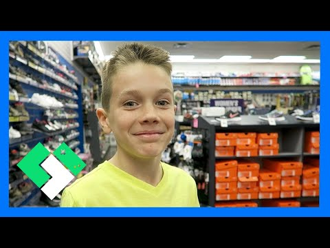 NEW BASKETBALL SHOES SHOPPING (Day 1432)