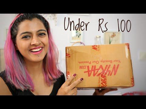 Under Rs 100 _ Nykaa Haul | SuperWowStyle #BudgetBeauty