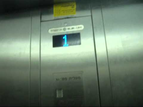 Retake - Electra elevators at G Cinema City in Rishon Lezion(Service elevators)