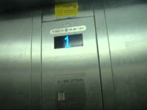 Retake - Electra elevators at G Cinema City in Rishon Lezion(Service elevators)