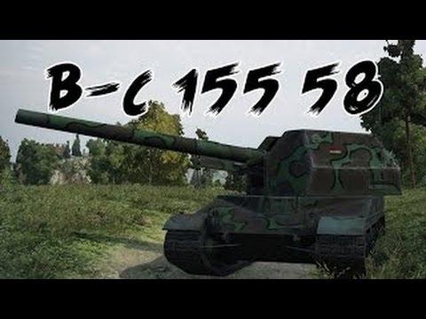 World of tanks bat-ch0e2tillon 155 58 - 4 kills 8,9k damage