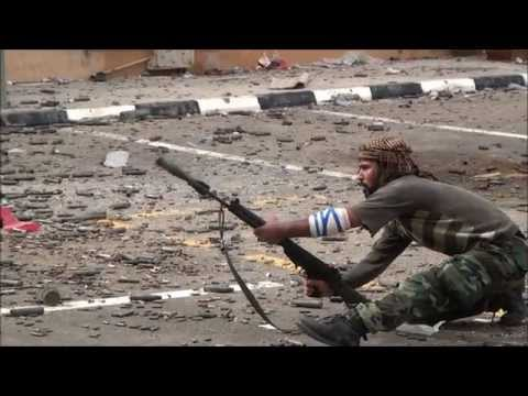 FN FAL Rifle Grenade used in combat during the Libyan civil war