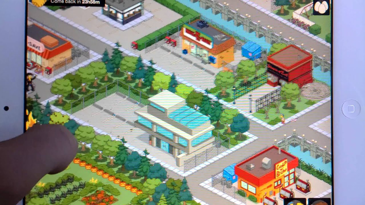 Best Simpsons Tapped Out Town
