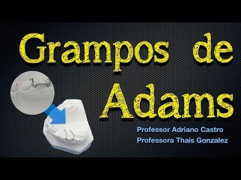 Grampos de Adams- Prof. Adriano Castro/ Professora Thaís Gonzalez