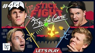 STICK FIGHT met Milan, Enzo, Link en Harm | Let's Play | LOGS2 #44
