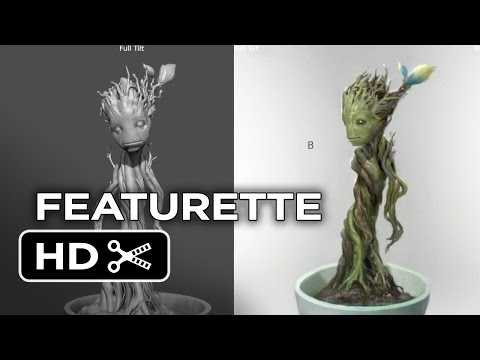 Guardians of the Galaxy Blu-ray Featurette - Designing Baby Groot (2014) - Marvel Movie HD