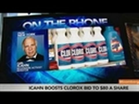 Carl Icahn Says He May Consider Breaking Up Clorox
