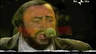 Luciano Pavarotti Video - Luciano Pavarotti +Queen - Too Much Love Will Kill You