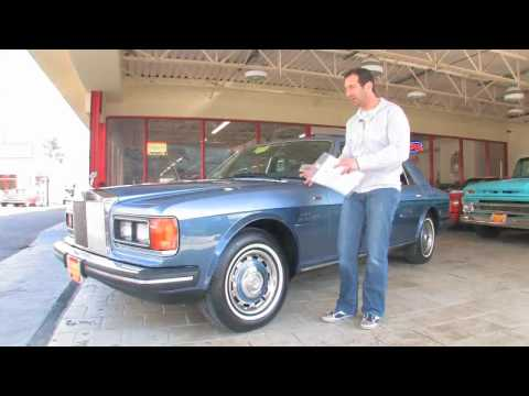 1982 Rolls Royce Silver Spirit Mulsanne FOR SALE flemings ultimate garage Video