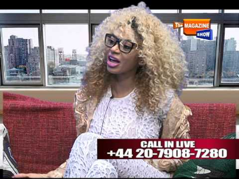 Dencia Interview On The Magazine Show @DaMagazineShow