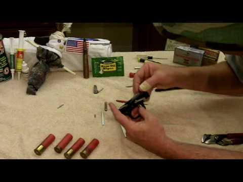 Mossberg 590 Trigger Group Disassembly