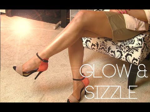How To Get SEXY LEGS   Cover Scars & Bronze