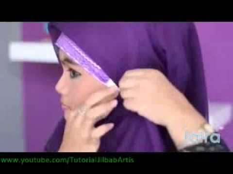 Belajar Berjilbab - MY01 Hijab Tutorial 09