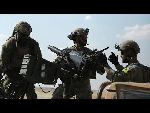 'Terror group insignia': US troops wearing Kurd badges infuriate Turkey