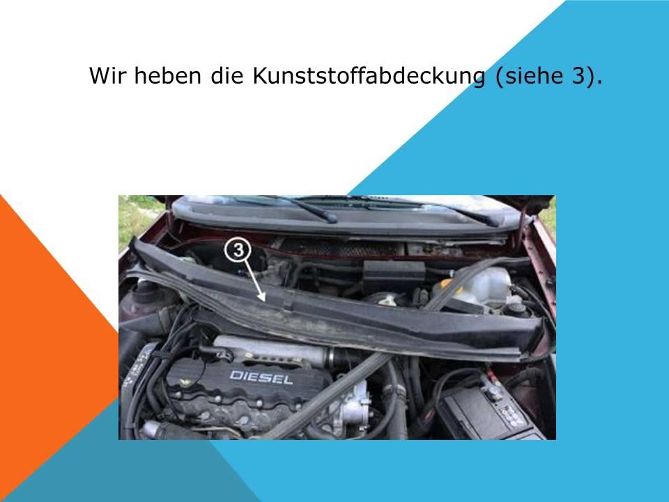 So Ersetzen Sie Den Innenraumfilter Auf Einem Opel Astra