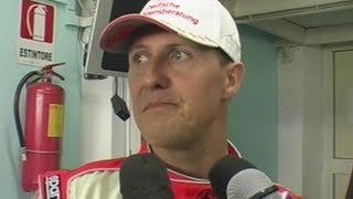 Sarno (SA) - Michael Schumacher al World Series di Karting (05.04.13)