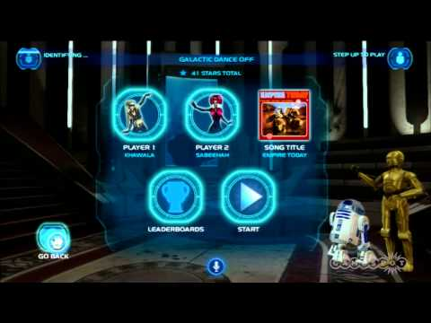 Kinect Star Wars Gameplay Demo