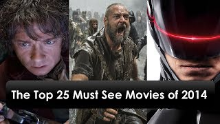 The Top best 25 Must See Movies of 2014 with Release Date !!! Die besten 25 Kino Filme 2014