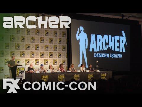 Archer   Comic-Con 2017: Danger Island Preview   FXX