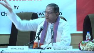 Chaganti gari Speech at HMA part 1