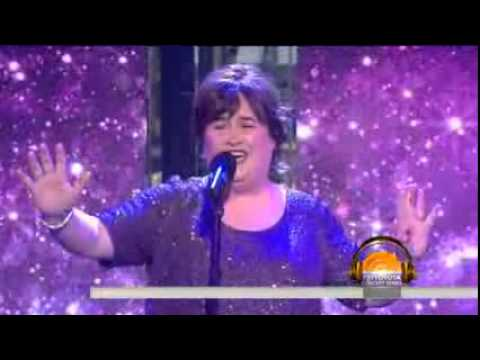 Susan Boyle - sings Pink Floyd's 'Wish You Were Here' ( TODAY )