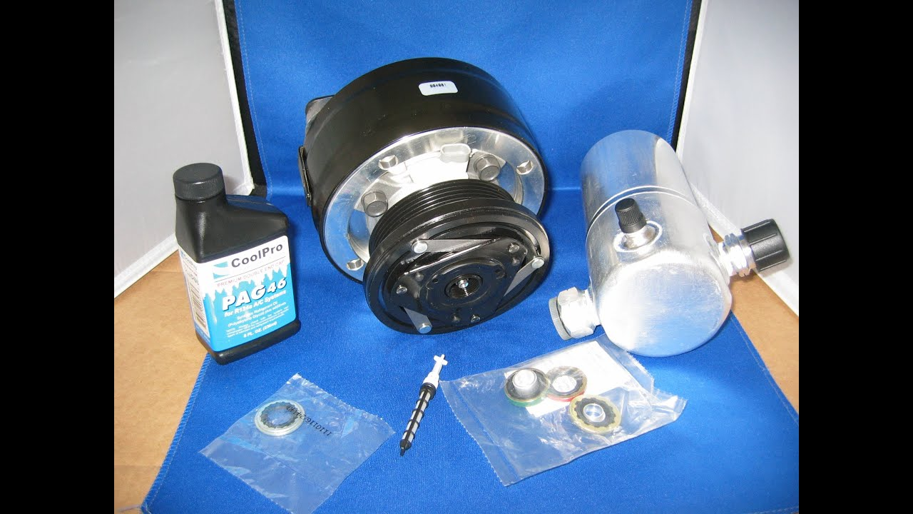 1994 Chevy Suburban Parts 93-95 Chevy Chevrolet C1500 Suburban 5.7 AC Compressor Kit ...