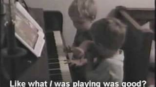 Playing Piano - 1998