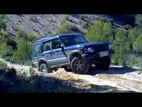 LAND ROVER DISCOVERY TD5 SUBIDA IMPRESIONANTE