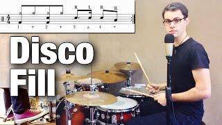 Disco Fill   Drum Lesson