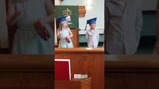 Mila graduation preschool 2018