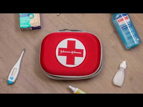 Build Your Own First Aid Kit & Stay Prepared to #STICKWITHIT | BAND-AID® Brand Adhesive Bandages