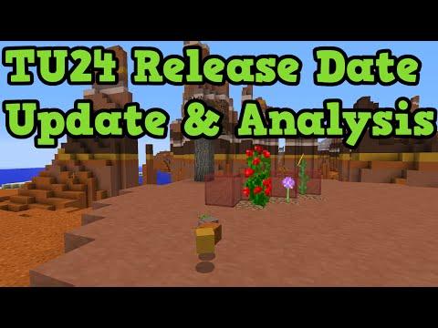 Minecraft Xbox 360 + PS3 - TU24 Release Date Update (Analysis)