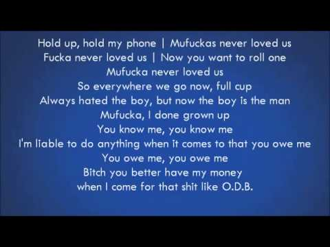 Drake   Worst Behavior     Lyrics video