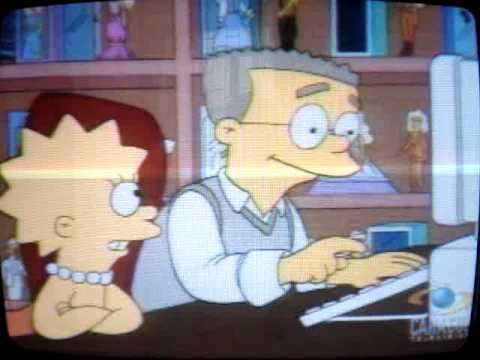 Los Simpsons - Smithers, ud estimula mi imaginación