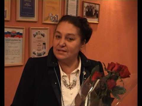 Выступление Натальи Бондарчук в гимназии 38
