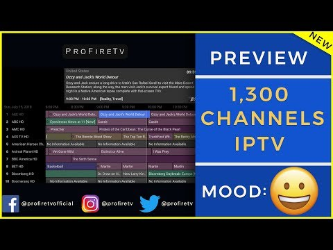 IPTV WITH 1,300 CHANNELS!