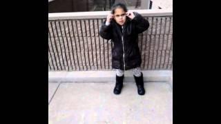 Arianna singing baby kaely bully bully bully