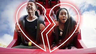 Couple Trapped on Rollercoaster Until Conflict Is Resolved | Couples Therapy | Cut