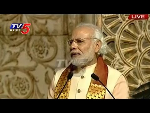 Art Of Living World Cultural Festival | Narendra Modi Speech | TV5 News