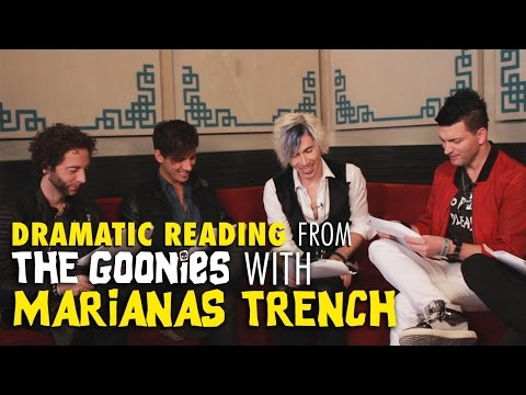 Marianas Trench Does A Dramatic Reading From The Goonies