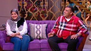 معكم منى الشاذلى - لقاء الفنان احمد فتحي وزوجتة نسرين وأطول رجل في مصر وعودة الفنانة شريهان