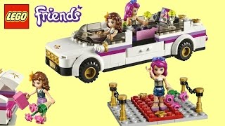 LEGO Friends Pop Star Limo 41107 Lego Brick Toys Unboxing Speed Build Review | TheChildhoodLife