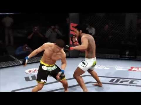 EA Sports UFC - Benson Henderson vs Josh Thomson Gameplay (PS4 HD) [1080p]