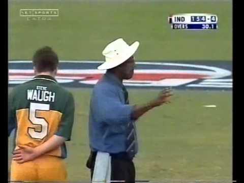 Yuvraj Singh 84 vs Australia on ODI debut- 2000 Kenya