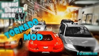 GTA IV Tornado Mod - Horrible