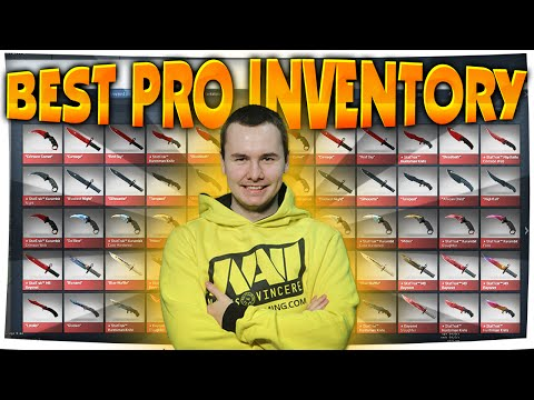 CS:GO - Best PRO INVENTORY ft. GuardiaN (#1 INVENTORY IN THE WORLD)